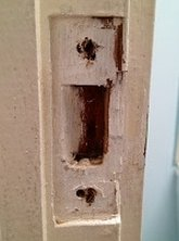 Simple way to fix loose screw hole